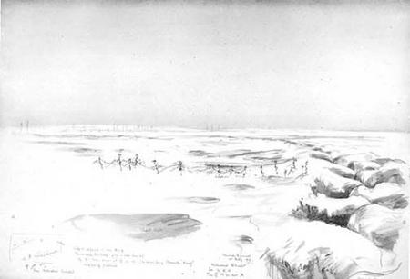 'Hyderabad redoubt' stormed by 1/7 RH Bn. 1918