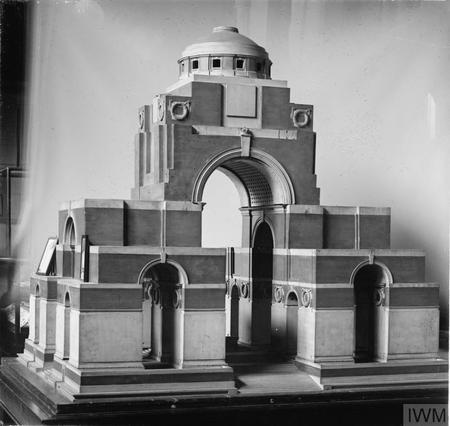 Model of Thiepval War Memorial