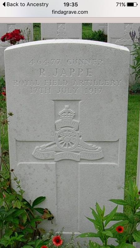 Grave stone.