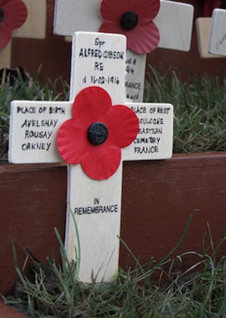 Kirkwall and St Ola War Memorial.