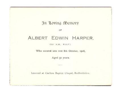 Profile picture for Albert Edwin Harper