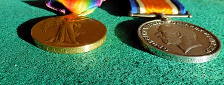 Arthur's war Medals