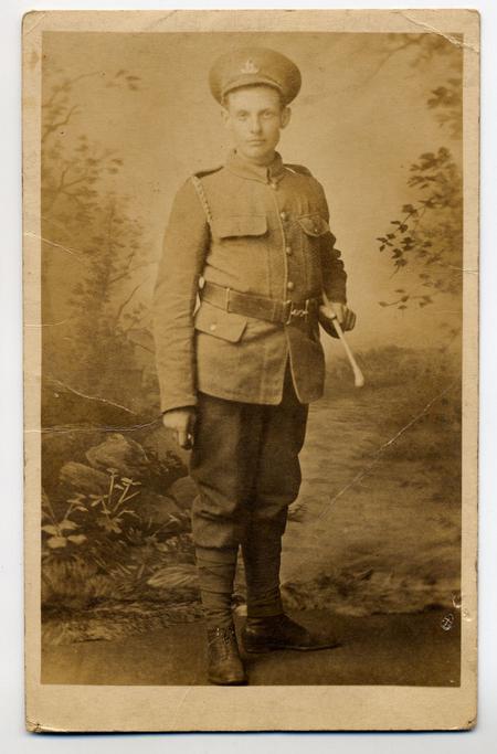 Arthur Hughes aged 19