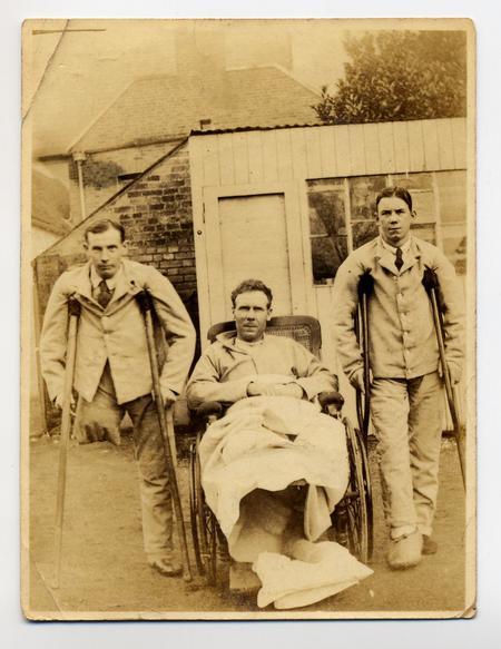 Arthur Hughes on left