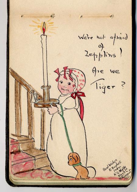 Not afraid of Zepplinsare we tiger