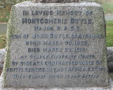Profile picture for Montgomerie Boyle