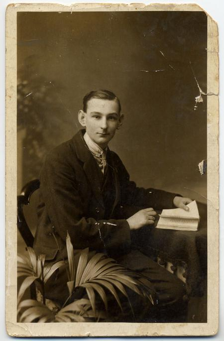 Charles Norman aged 18 in 1914