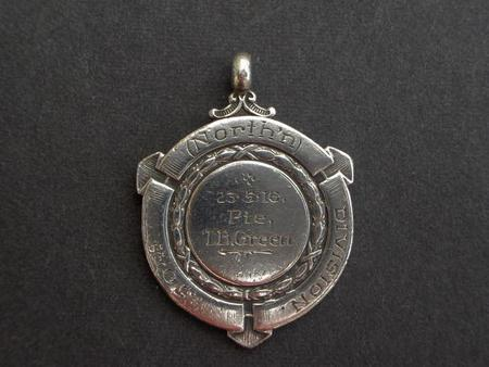 Football Champions Medal. Ypres