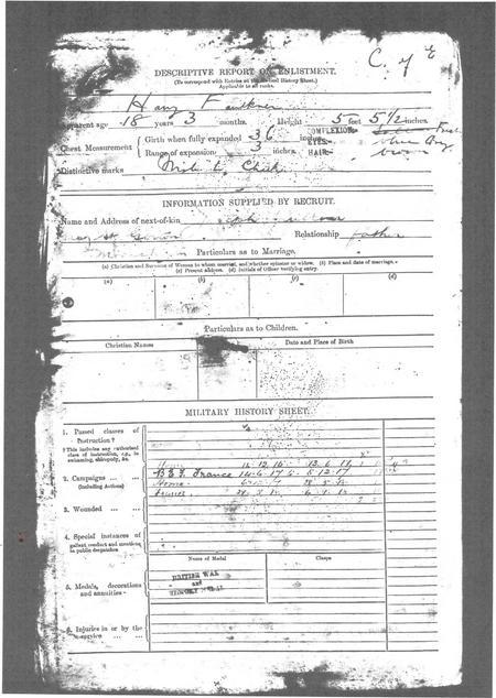 Descriptive Report on Enlistment