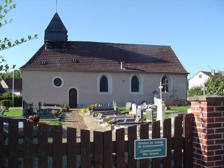 Saint Imoges Churchyard, France