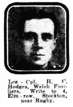 Profile picture for Henry George William Hodges