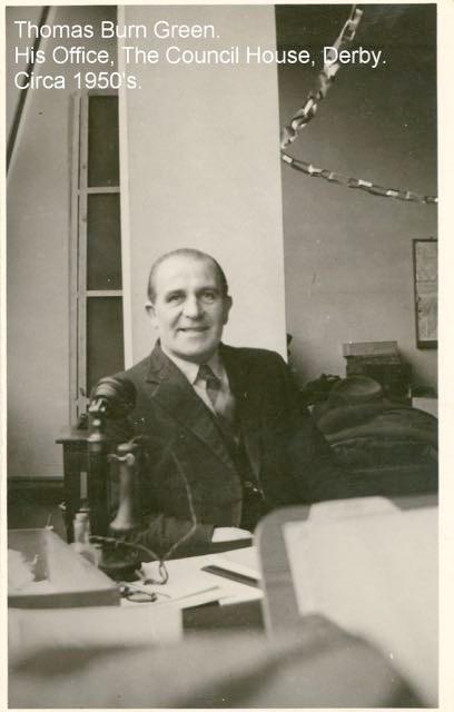 Thomas B. Green at work