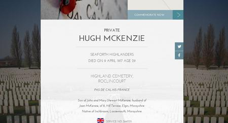 Profile picture for Hugh Mackenzie