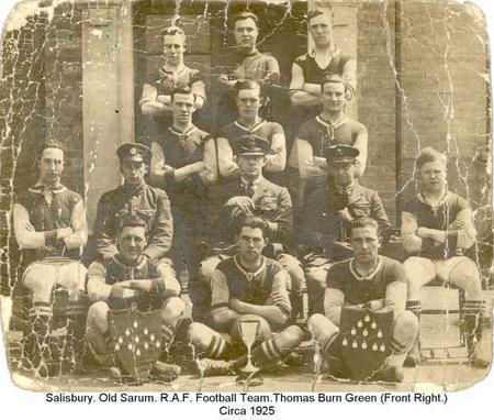 Old Sarum, R.A.F. Football team