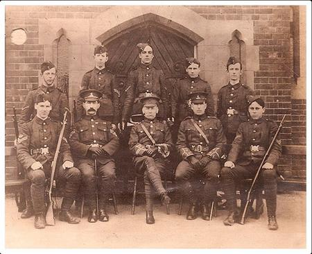 Skinners School OTC (James 2nd from right)