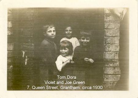 Tom, Dora, Violet and Joe