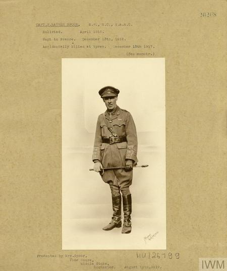 Captain Herbert Mather Spoor