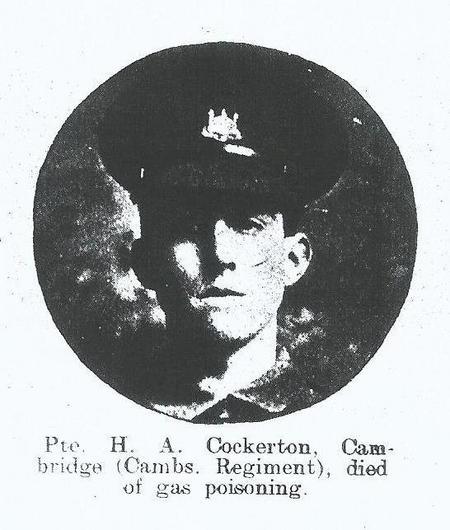 Profile picture for Hugh Aubrey Cockerton