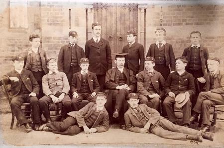 School Photo Skinners c.1890