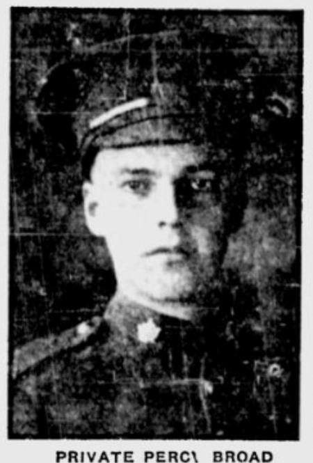 Profile picture for Percy Douglas Sinclair Broad