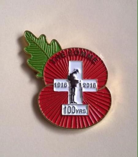 Centenary of the Battle fo the Somme.