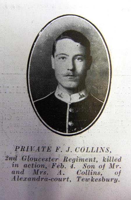 Profile picture for Frederick John Collins