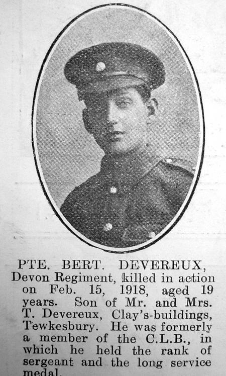 Profile picture for Bert Devereux