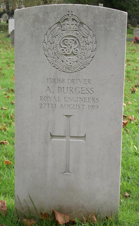 Profile picture for Albert Burgess