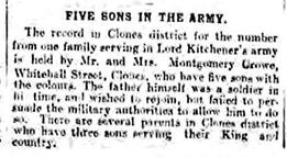 Five Sons in the Army