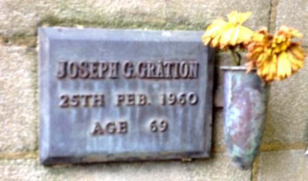 Profile picture for Joseph Gilbert Gration