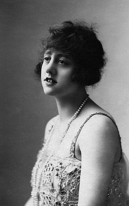 Believed to be Mabel Brett