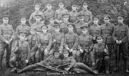 Snipers 2/6 City of London Rifles