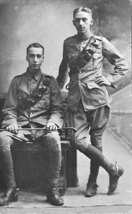 Pvt. Edgar George Chappell AVC, Cairo 1915