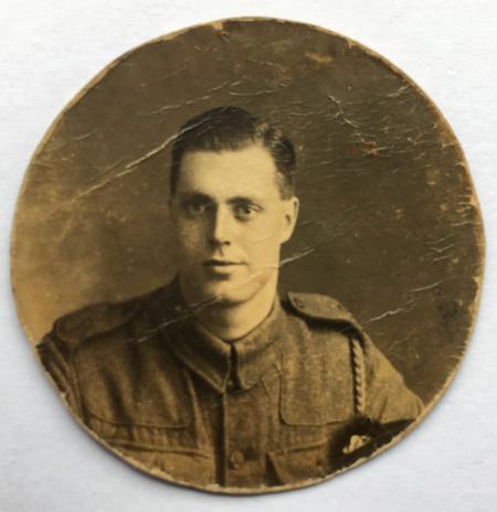 Charles Frederick Dickson in Uniform