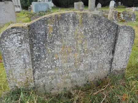 Joe Nightingale, Headstone, Trumpington