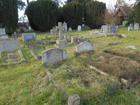Joe Nightingale, Headstone locn., Trumpington