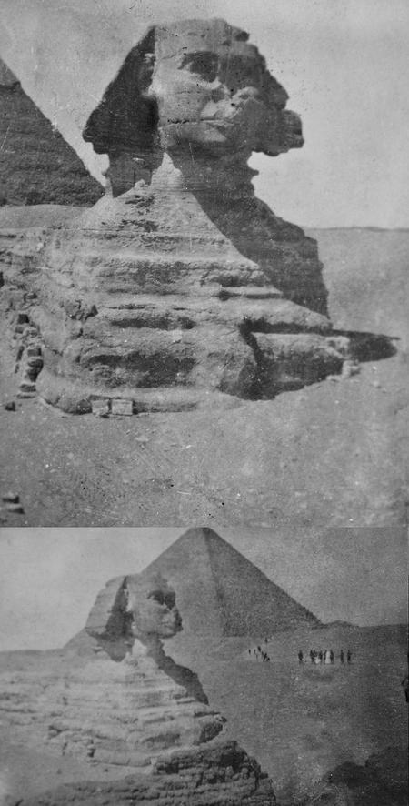 Giza photogaphs taken by 2/Lt E. G. Chappell.
