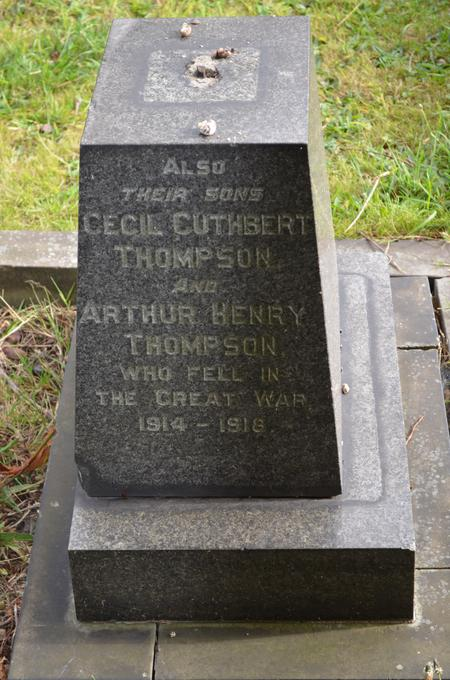 Profile picture for Cecil Cuthbert Thompson