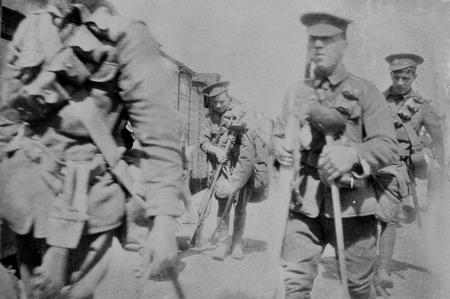 Yeomanry troops, Salonika Front, 1916