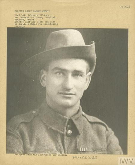 Private Henry Albert Franco