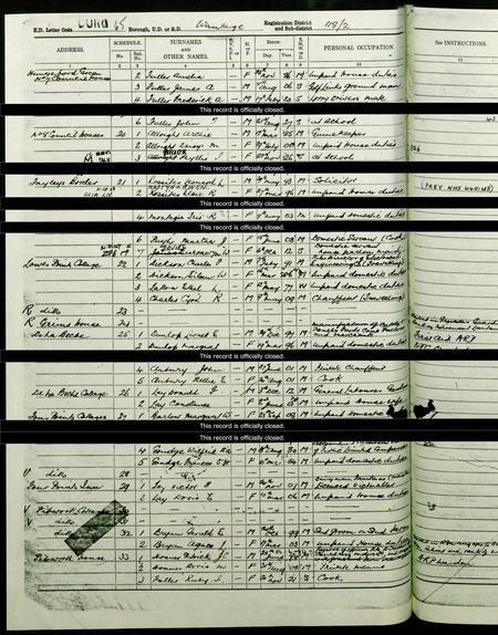 Charles' 1939 Register Entry