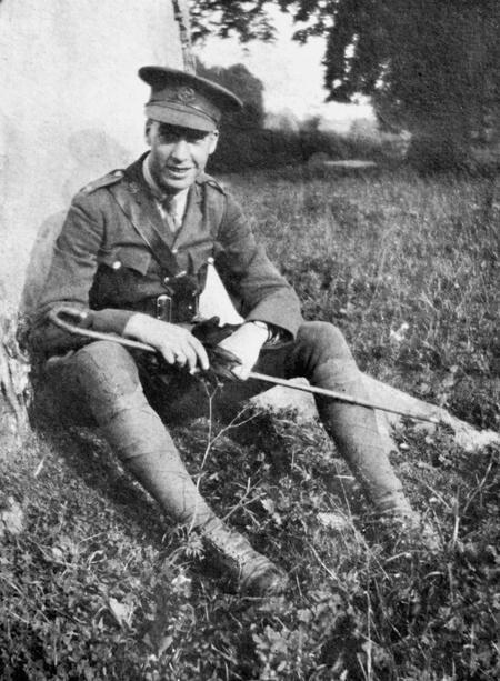 2/Lt. E. G. Chappell, Warminster, 1918.