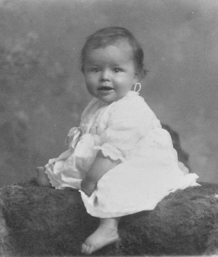 Allan Roy Chappell, 8 months old, 24/6/1918