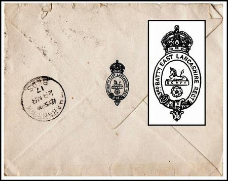 Letter from Woodford Camp, Plymouth, March 1917