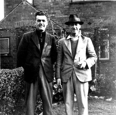Edgar and Roy Chappell , Chaddesden, Derby 1944.