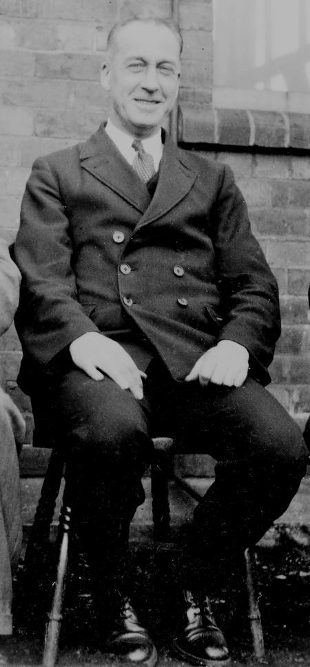 Edgar Chappell, LMS District Inspector, Derby.