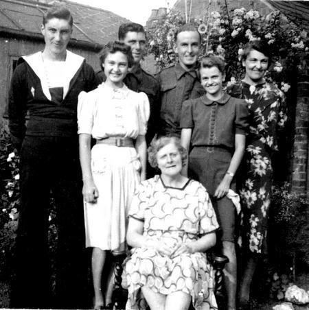 Visitors, Chaddesden, Derby 1943