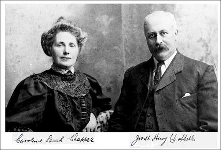Caroline Sarah and Joseph Henry Chappell 1915.