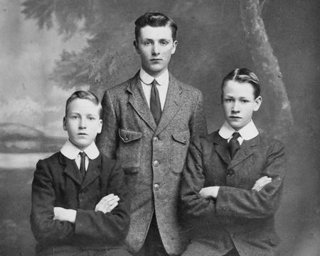 The Chappell brothers, 1916.