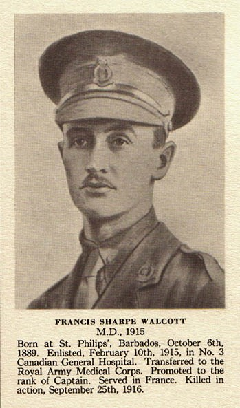 Profile picture for Francis Sharpe Walcott